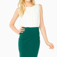 Blouson Midi Work Dress