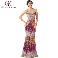 Elegant Floor Length Long Dress Dance wear Sexy Party Gown