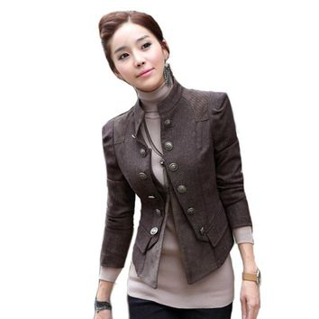 Women blazer and Jacket spring autumn ladies Suit Blazer outerwear