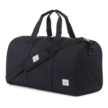 Herschel Supply Co.: Ravine Duffle Bag - Black / 3M Rubber
