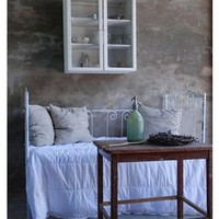French Wrought Iron sofa Lounger