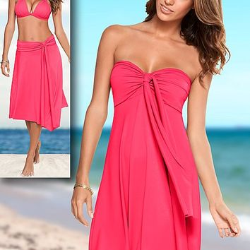 Convertable dress or skirt Cover Up