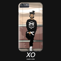 The Weeknd Illustration IPhone / Galaxy Phone Case