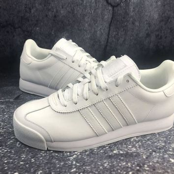 Adidas Originals Samoa W Pigskin White Sports Running Shoes - Best Deal  Online 9900bfa60f53