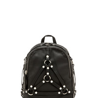 Bound Mini Backpack in Black