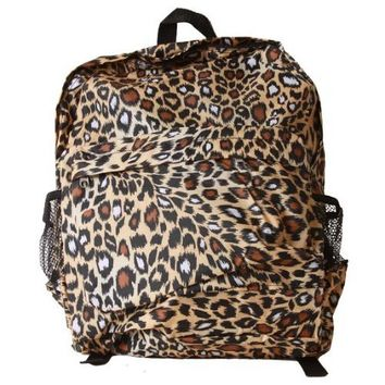 Fierce Clover Cheetah Print J-10 Backpack