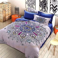 4-Piece Mandala Bedding Sets
