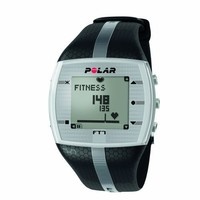 Polar FT7 Men's Heart Rate Monitor (Black / Silver)