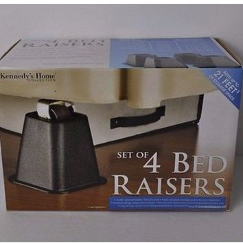 Kennedy's Home Collection Set of 4 Bed Raisers