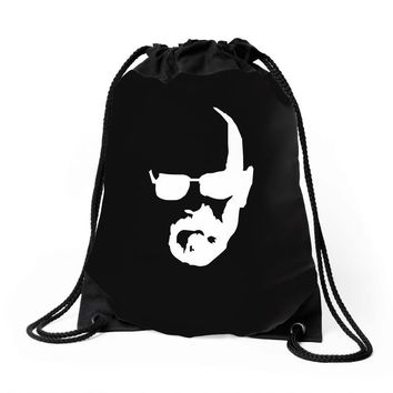 breaking bad   walter Drawstring Bags