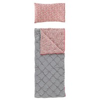 Flower Bed Sleeping Bag & Personalized Case (Hot Pink) | The Land of Nod