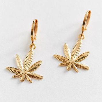 Frasier Sterling Mary Jane Hoop Earring | Urban Outfitters