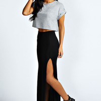 Soraya Thigh High Split Maxi Skirt