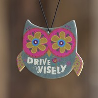 Car  Air  Fresheners:  Blue  Owl  Air  Freshener  From  Natural  Life