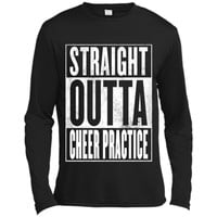Cheer Practice T-Shirt - STRAIGHT OUTTA CHEER PRACTICE Shirt