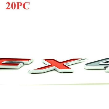 FX4 Off Road Emblem Auto Badge Side Panel ABS Car Sticker