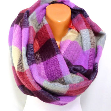 Blanket Scarf, Tribal Scarf, Winter Scarf, Blanket Shawl, Fall Fashion Accessories, Women's Fashion Accessories, Gift for Mothers day