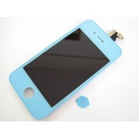 Blue Full LCD Display + Touch Screen Digitizer Front Glass Assembled Together for Apple Iphone 4G 4 G GSM AT&T ~ Repair Parts Replacement