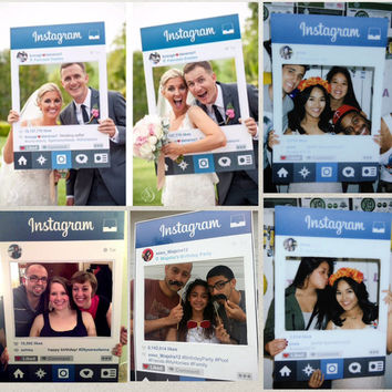 The Original Instagram Photo Prop File - Wedding, Birthday, Corporate Event, Holiday Party, College Event, Church Function, Baby Shower