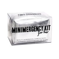 Ms. & Mrs. Minimergency Kit - Silver