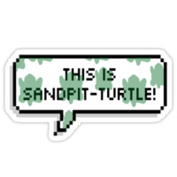 This is sandpit-turtle!