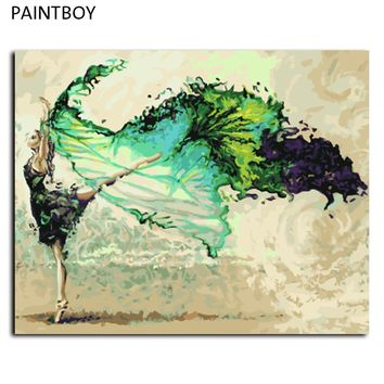 Framed Picture Painting By Numbers DIY Digital Canvas Oil Painting Home Decor For Living Room G006 Wall Art Painting