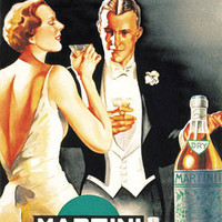 Vermouth Dry Vintage Ad Poster by D. Lubatti