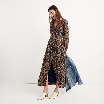 Nightflower Maxi Dress in Prairie Blossoms : shopmadewell midi & maxi dresses | Madewell