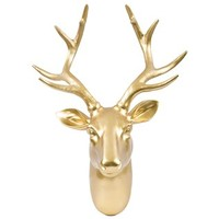 Gold Deer Head Wall Hanger | Shop Hobby Lobby