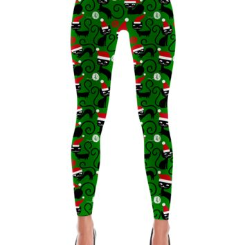Christmas Cat Leggings
