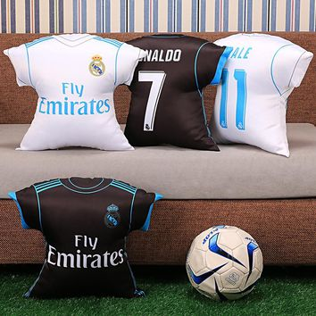 KUYOU Real Madrid 17/18 Jersey Pillow Could Custom Name and Number