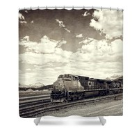 Canada Rail Shower Curtain for Sale by Ivy Ho
