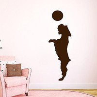 Wall Decals Vinyl Decal Sticker Animals Dog Playing with a Ball Cute Puppy Pets Grooming Salon Pet Shop Kids Nursery Baby Boy Girl Room Decor Interior Design Kg918