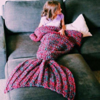 Mermaid Tail Blanket (Child)