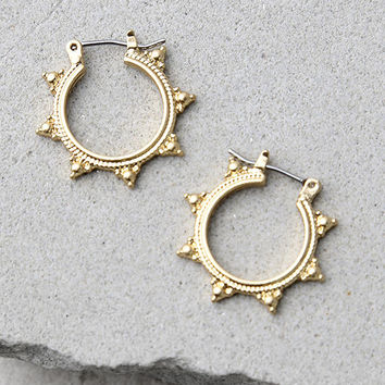 Sundrop Gold Earrings