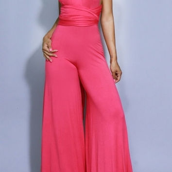 Pretty in Pink Infinity Jumpsuit
