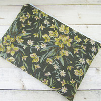 Flowers MacBook Air / Pro 13 sleeve with zipper, MacBook Air 13 Sleeve, MacBook Pro 13 case, MacBook Air 13 case, MacBook Pro 13 sleeve