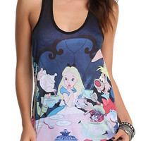 Disney Alice In Wonderland Tea Party Tank Top | Hot Topic
