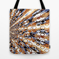 May Bubble Melts | Funky Abstract design Tote Bag by Webgrrl