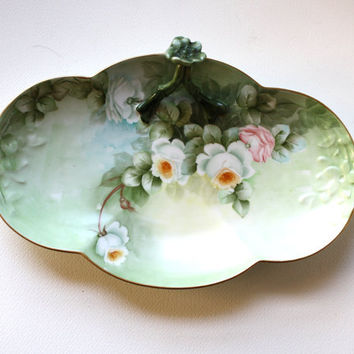 Antique Limoges France Serving Dish - SALE