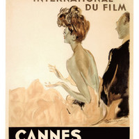 Festival International du Film, Cannes, 1939 Stampa giclée di Jean-Gabriel Domergue su AllPosters.it