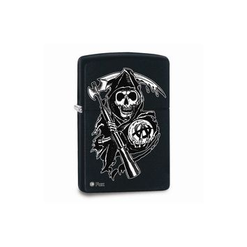 Zippo Sons Of Anarchy Reaper Black Matte Lighter