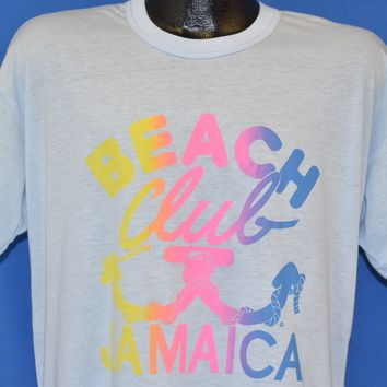 80s Beach Club Jamaica t-shirt Large