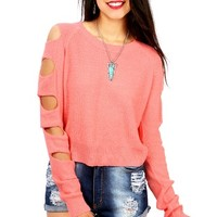 Holy Knits Sweater   Trendy Knits at Pink Ice