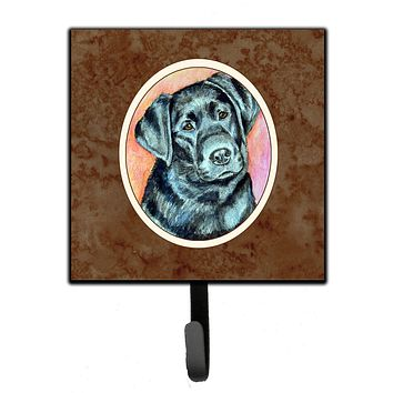 Black Labrador Leash or Key Holder 7177SH4