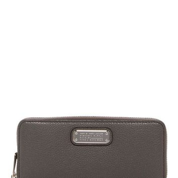 Marc by Marc Jacobs | New Q Slim Zip Continental Leather Wallet | Nordstrom Rack