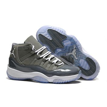 Air Jordan 11 Retro Men Shoes Cool Grey