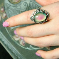 MOOD RING - Sterling Silver Mood Ring