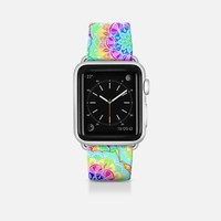 Psychedelic Summer Neon Brights Watch Band Apple Watch Band (42mm) by Micklyn Le Feuvre | Casetify