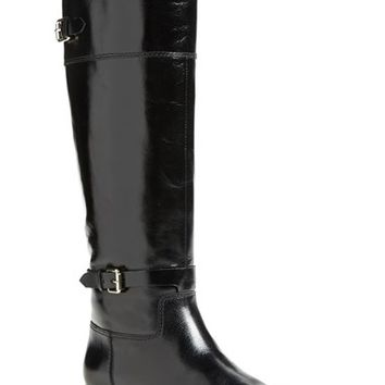 Women's Enzo Angiolini 'Eero' Leather Boot (Wide Calf) (Online Only)